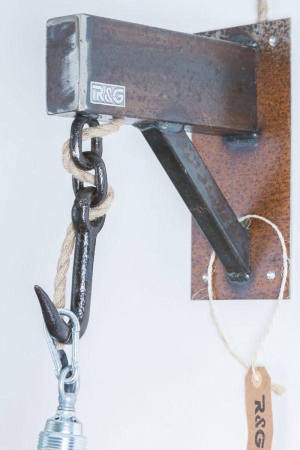 R&G Wandlamp Haak