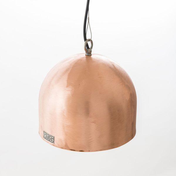 Koperen hanglamp boiler Rond M