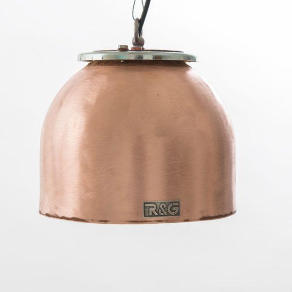 Koperen hanglamp boiler Flens M