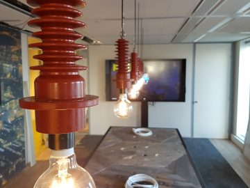 Ruig & Geroest - Stedin Rotterdam - Isolator lampen (1)