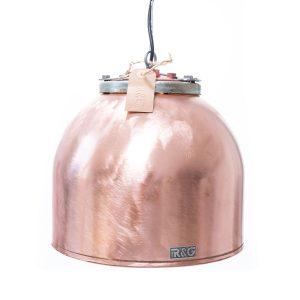 Koperen boiler hanglamp Flens L