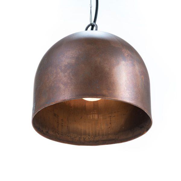 R&G-Koperen-hanglamp-Aged-M-Rond